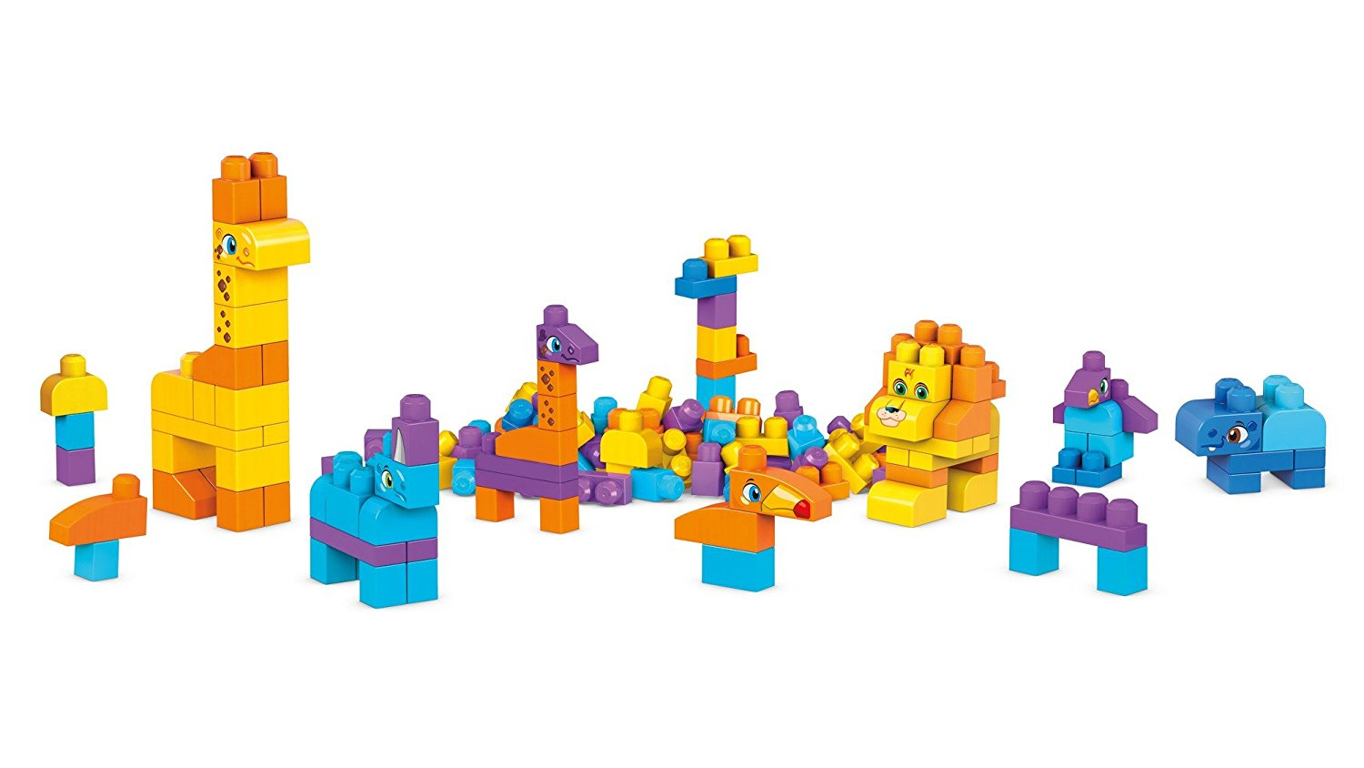 Mega Bloks My Safari Friends Blocks Kit