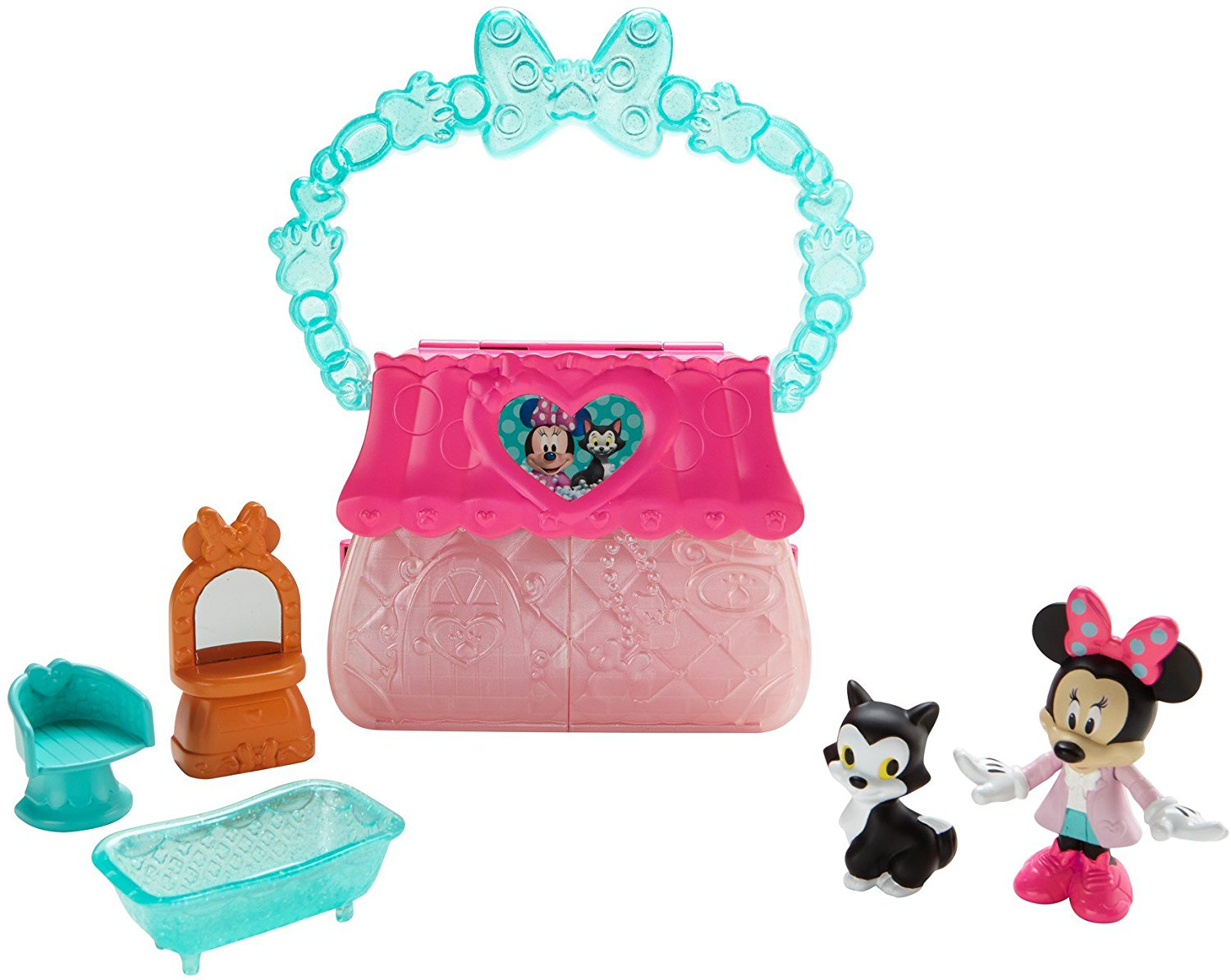 Mattel Fisher-Price Girls Minnie's Happy Helpers Minnie's Stylin' Pet Center Toy DTR32