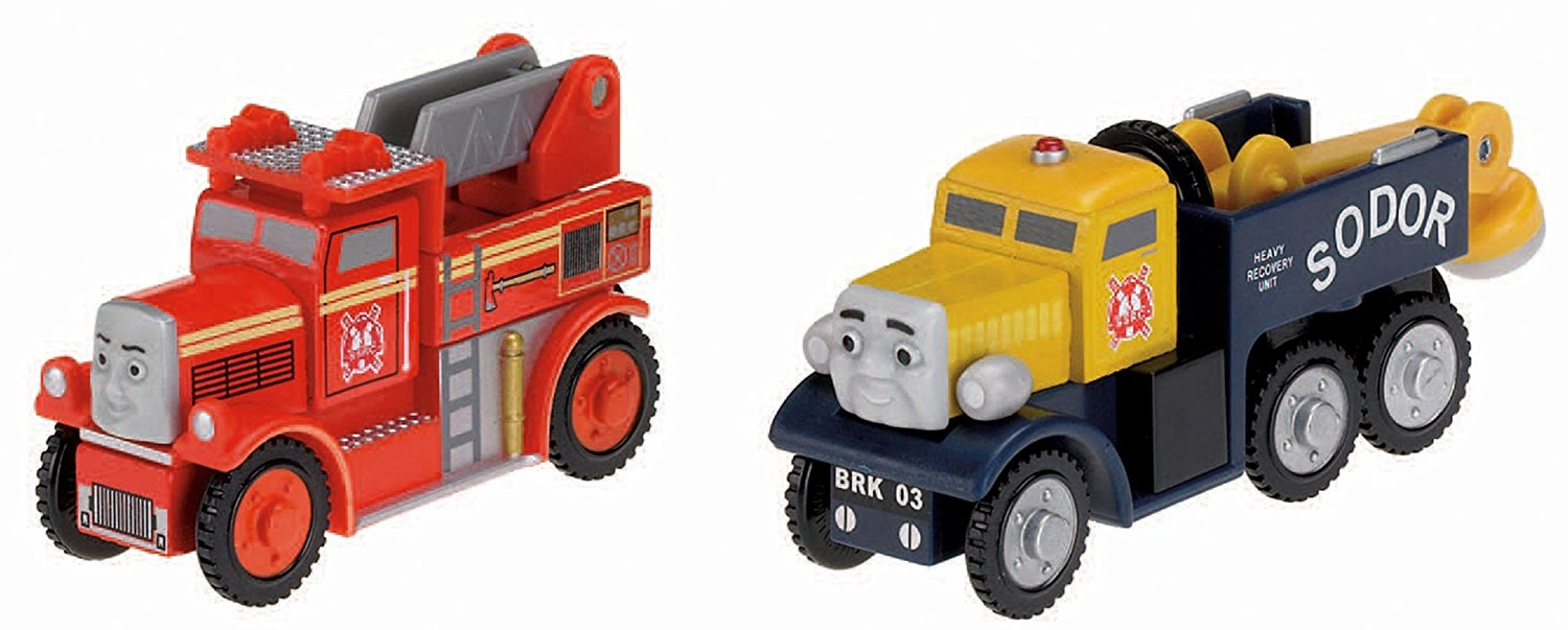 Fisher Price Thomas & Friends Wooden Railway, Race to the Rescue Y4503