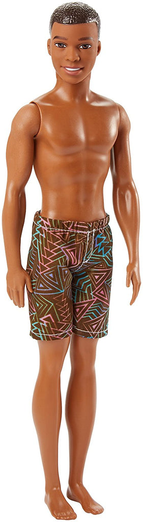 Mattel  Barbie Water Play Beach Doll, Male DWK07