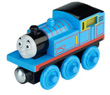 Fisher Price Thomas & Friends Wooden Railway, Roll and Glow Thomas - Battery Operated CHN24