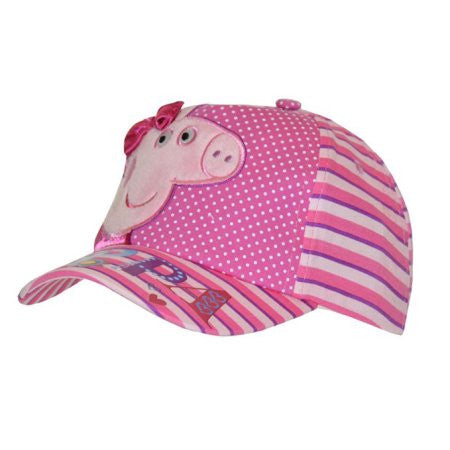Peppa Pig - Satin Bow Embroidered Baseball Cap