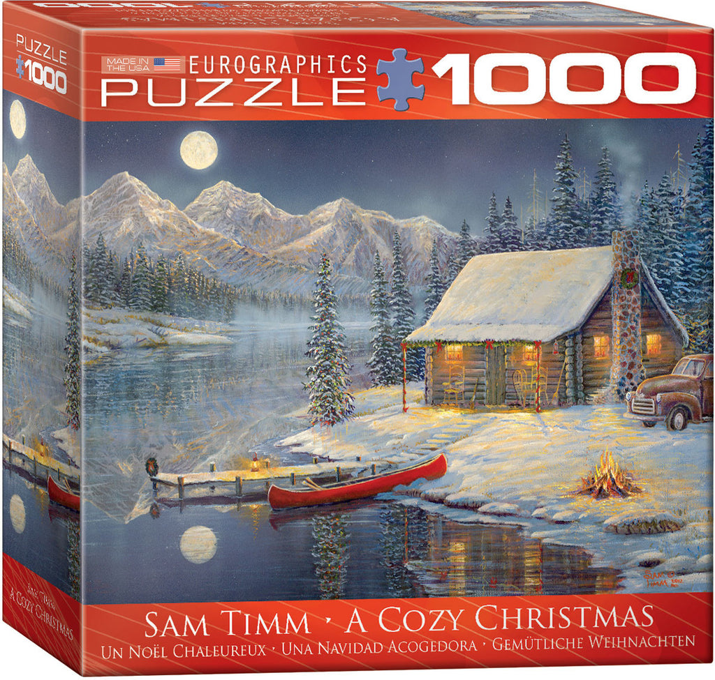 EuroGraphics Puzzles A Cozy Christmas by Sam Timm