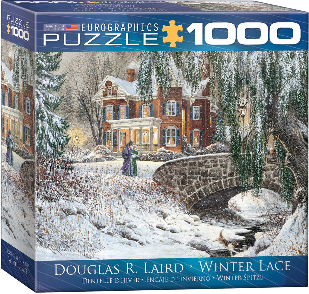 EuroGraphics Puzzles Winter Lace by Douglas R. Laird
