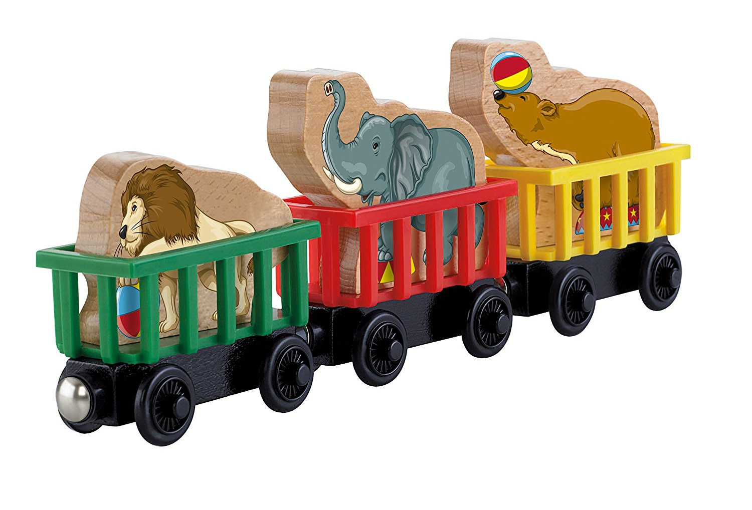 Fisher Price Thomas the Train Wooden Railway Circus Train 3-Pack Y5020