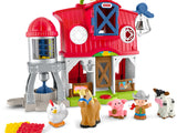 Fisher Price Fisher-Price Little People Caring for Animals Farm Playset DWC31