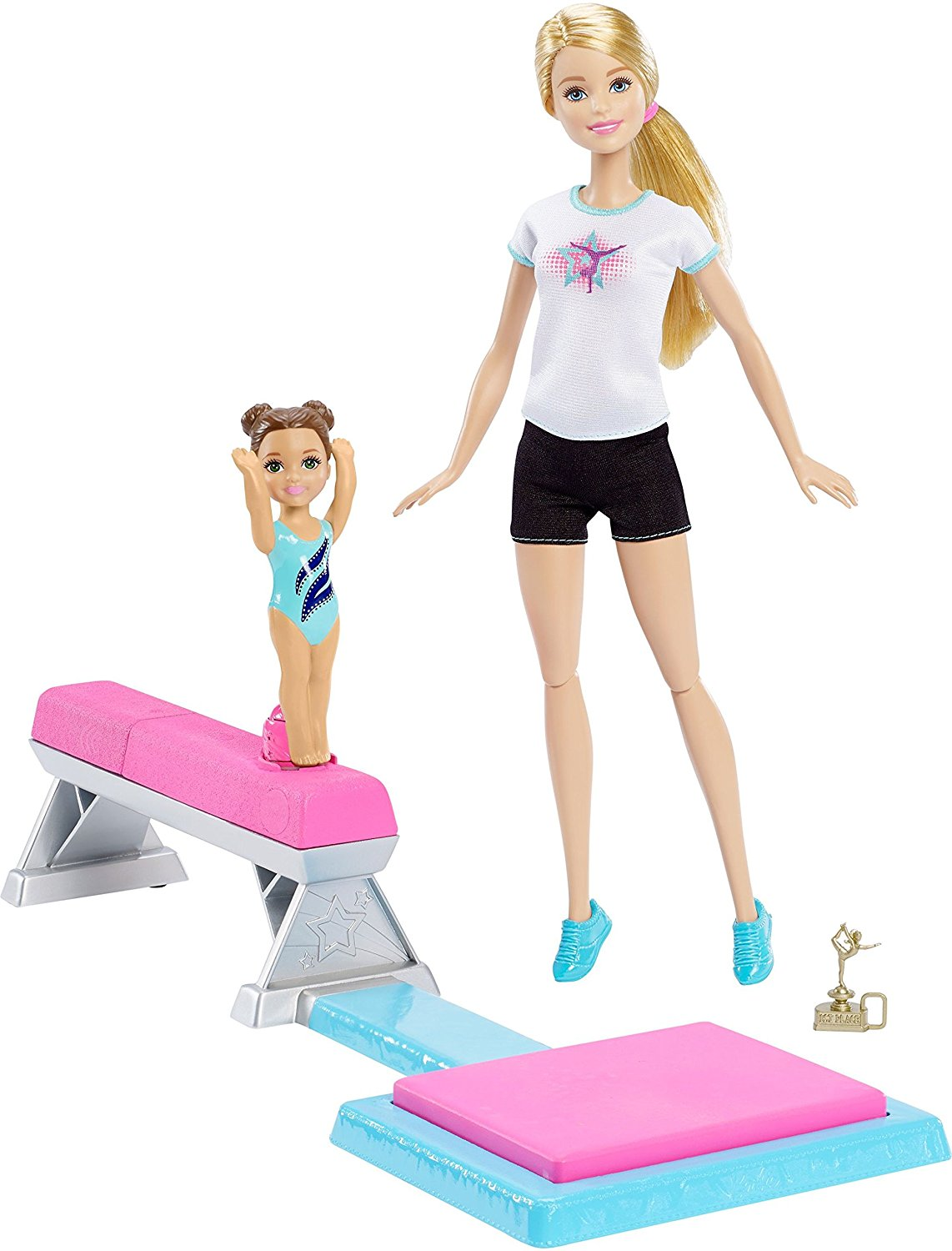 Mattel Barbie Flippin Fun Gymnast  DMC37