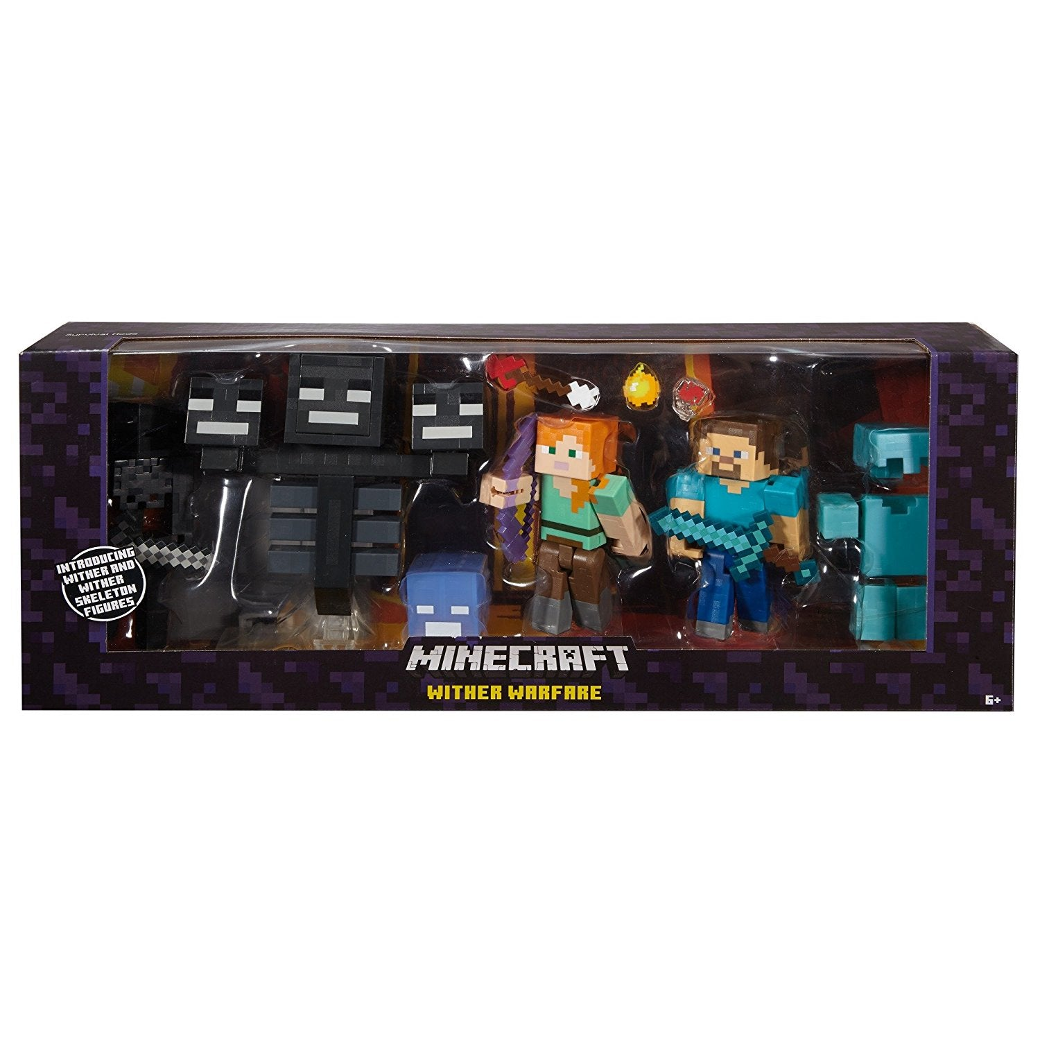 MatteL Minecraft Wither Warfare Multipack FCW12