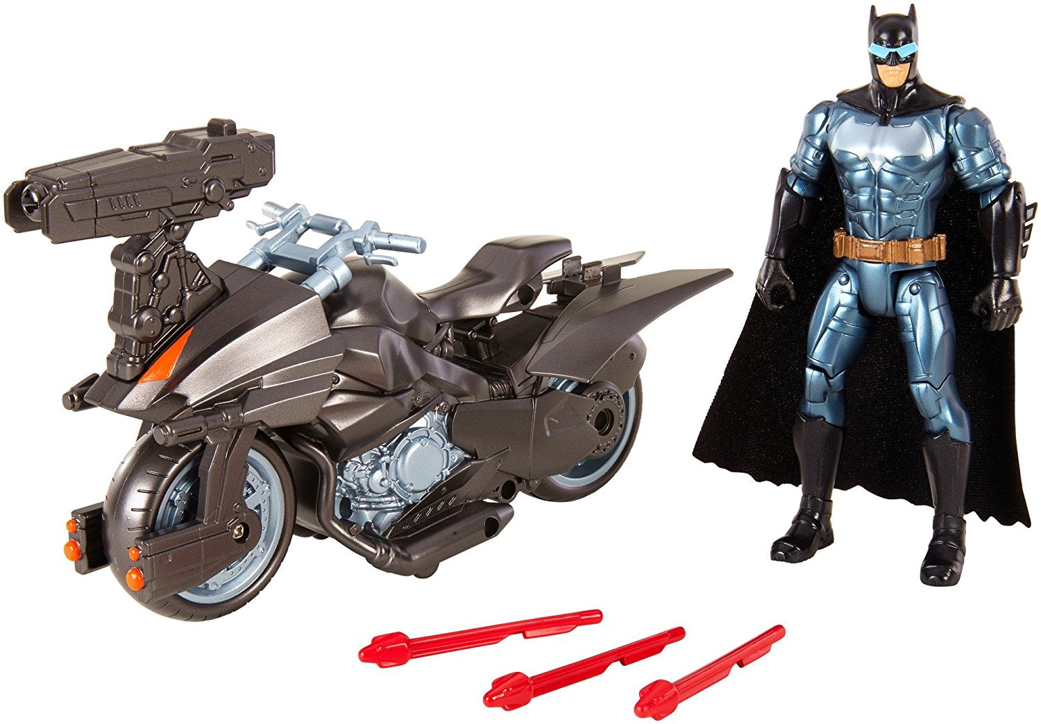 Mattel Justice League Batman™ & Batcycle™ Vehicle And Figure FGG53