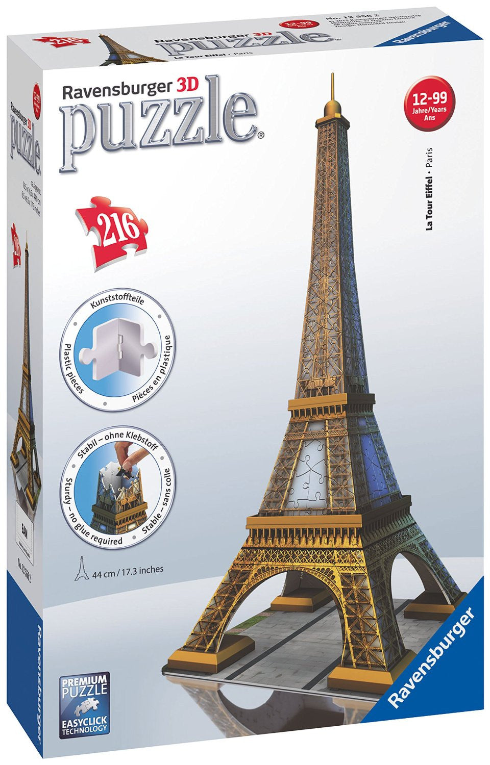 Ravensburger 3D Puzzles Eiffel Tower 12556