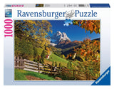 Ravensburger Adult Puzzles 1000 pc Puzzles - Mountains in Autumn 19423