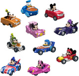 Fisher-Price Disney Mickey & the Roadster Racers Hot Rod Vehicles, 10 Pack Toy FTH09