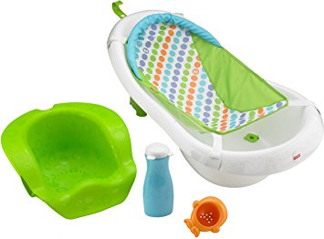 Fisher Price 4-in-1 Sling N Seat Tub, Multi color BDY86
