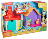 Fisher Price Little People Magic of Disney Mickey & Goofy's Gas & Dine Playset DRK58