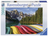 Ravensburger Adult Puzzles 2000 pc Puzzles - Mountain Canoes 16647