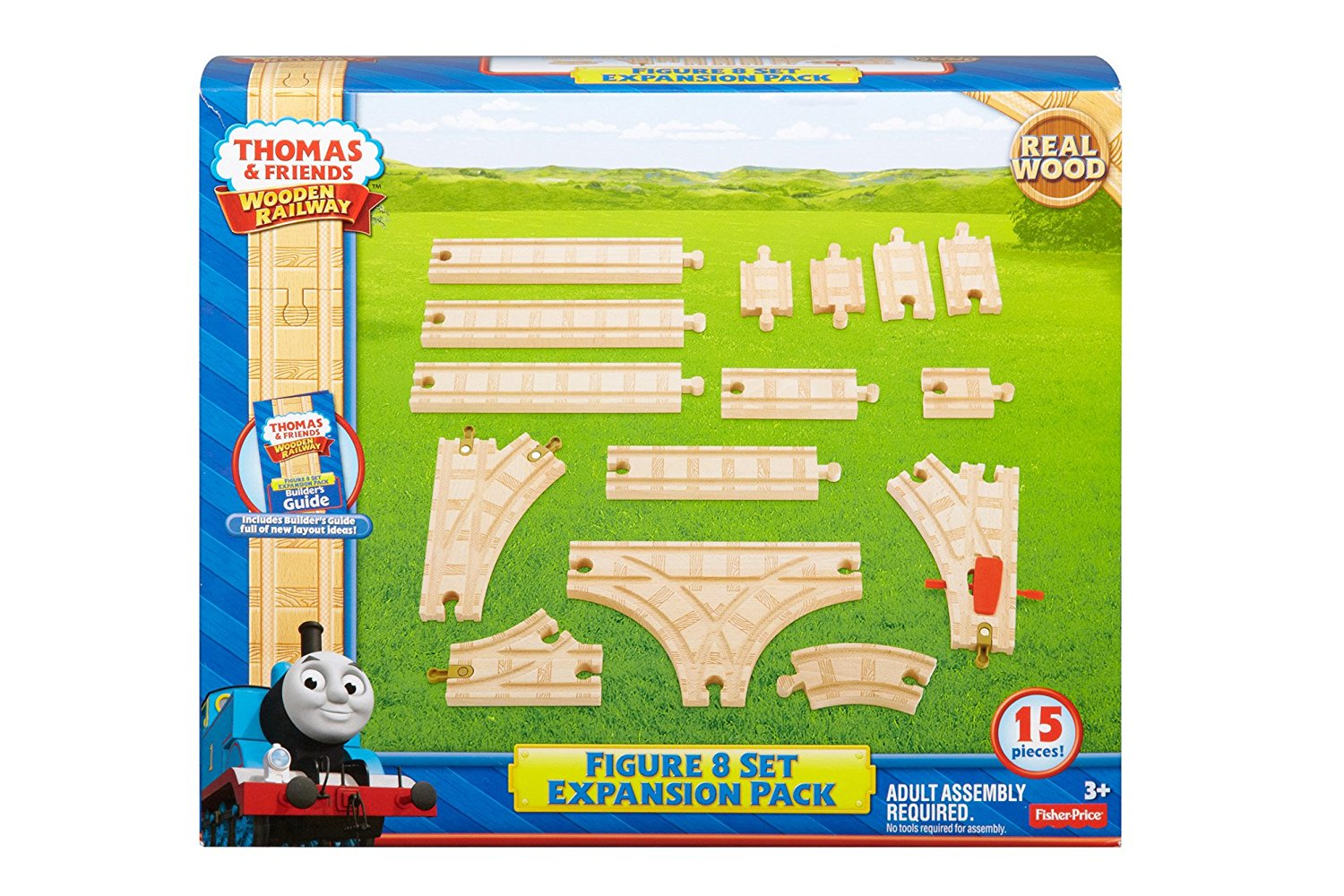 Fisher Price Thomas The Train Wooden Railway Figure 8 Expansion Pack