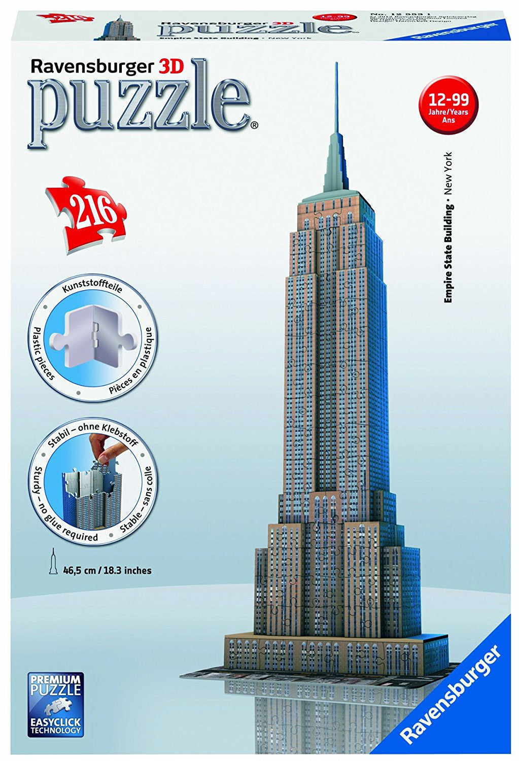 Ravensburger 3D Puzzles Empire State Building 12553