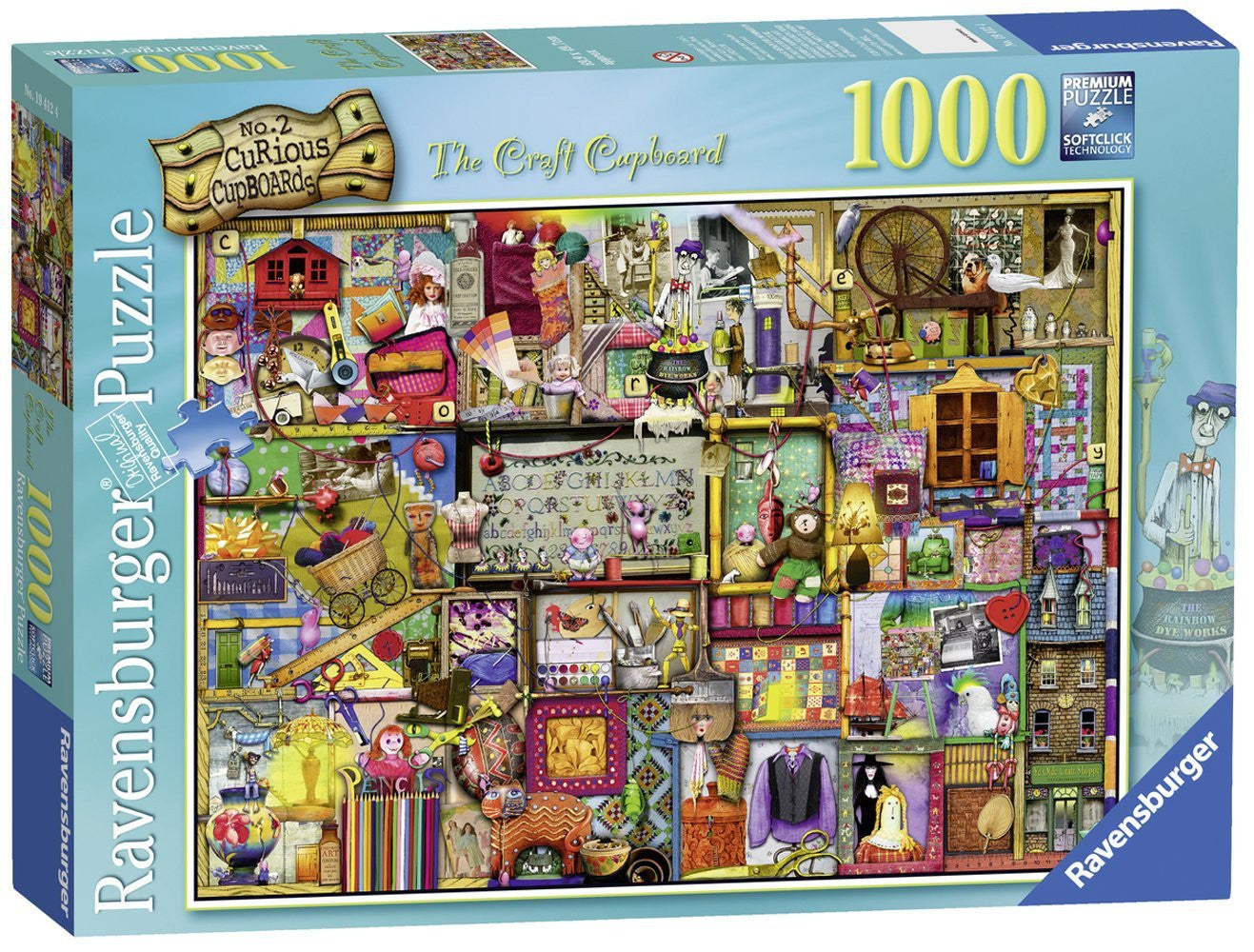 Ravensburger Adult Puzzles 1000 pc Puzzles - The Craft Cupboard 19412