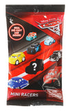 Mattel Cars 3 Die Cast Mini Racers Mystery Assorted 1 Count or Bundle of 6 FBG74