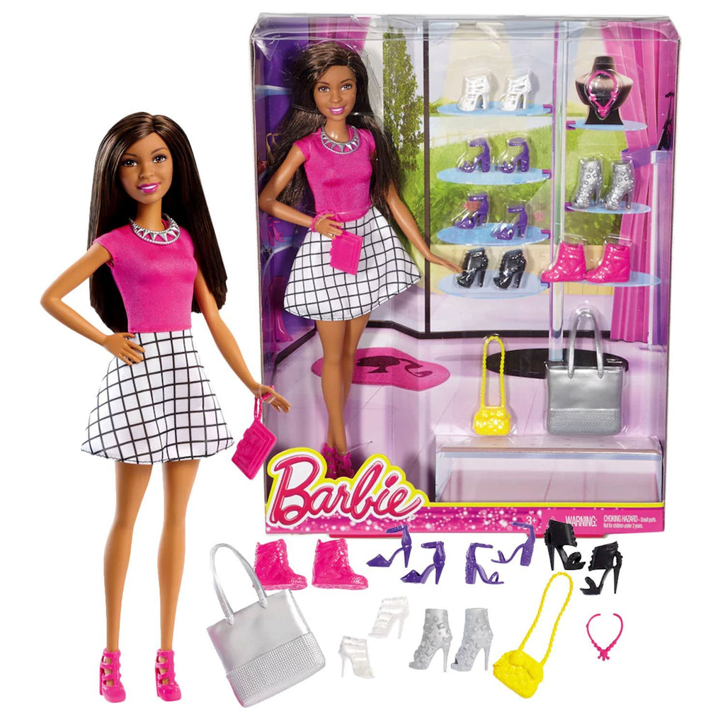 Barbie You Can Be Anything Series 12 Inch Doll Set - NIKKI FCH77
