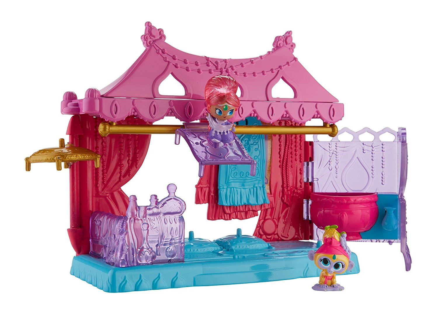 Mattel Fisher-Price Nickelodeon Shimmer & Shine, Teenie Genies Magic Carpet Shop DTK48