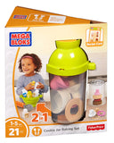 Mattel Mega Bloks First Builders Cookie Jar Baking Set Building Kit DPJ53