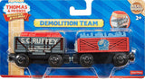 Fisher Price Thomas the Train Wooden Railway Demolition Team Truck DVL67