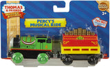 Fisher Price  Thomas & Friends Wooden Railway, Percy's Musical Ride Train - Battery Operated Y4105
