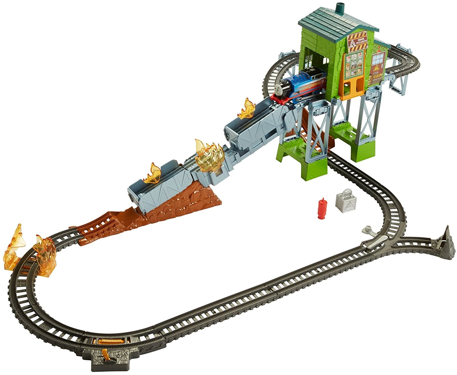 Mattel Thomas & Friends TrackMaster, Fiery Rescue Set  FBK47
