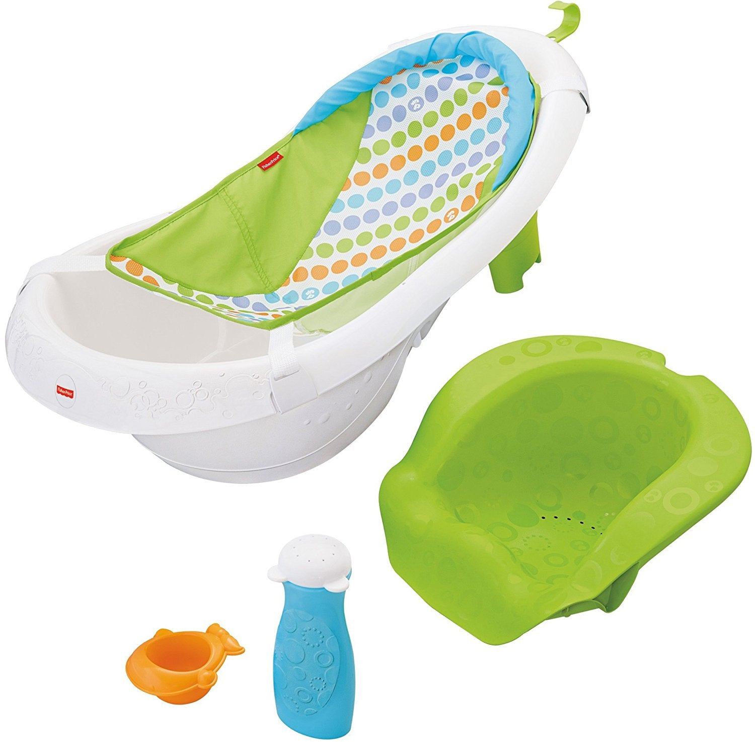 Fisher Price 4-in-1 Sling n' Seat Tub Green (Wrap Package) CBX23
