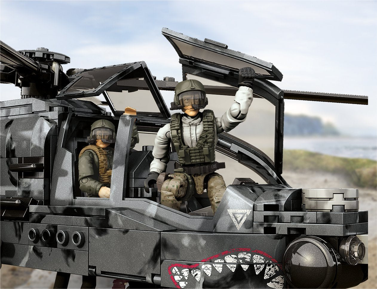 Mattel Mega Bloks Call Of Duty Anti Armor Helicopter Dpb60 You Are My Everything Yame Inc
