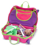 Melissa & Doug Trunki Tote - Pink/Purple