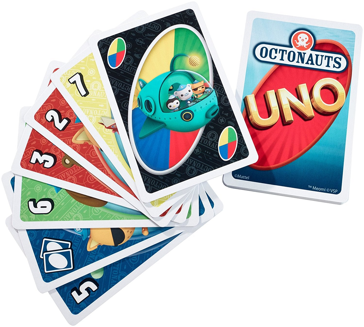 Mattel My First UNO® - Octonauts™ BGG48