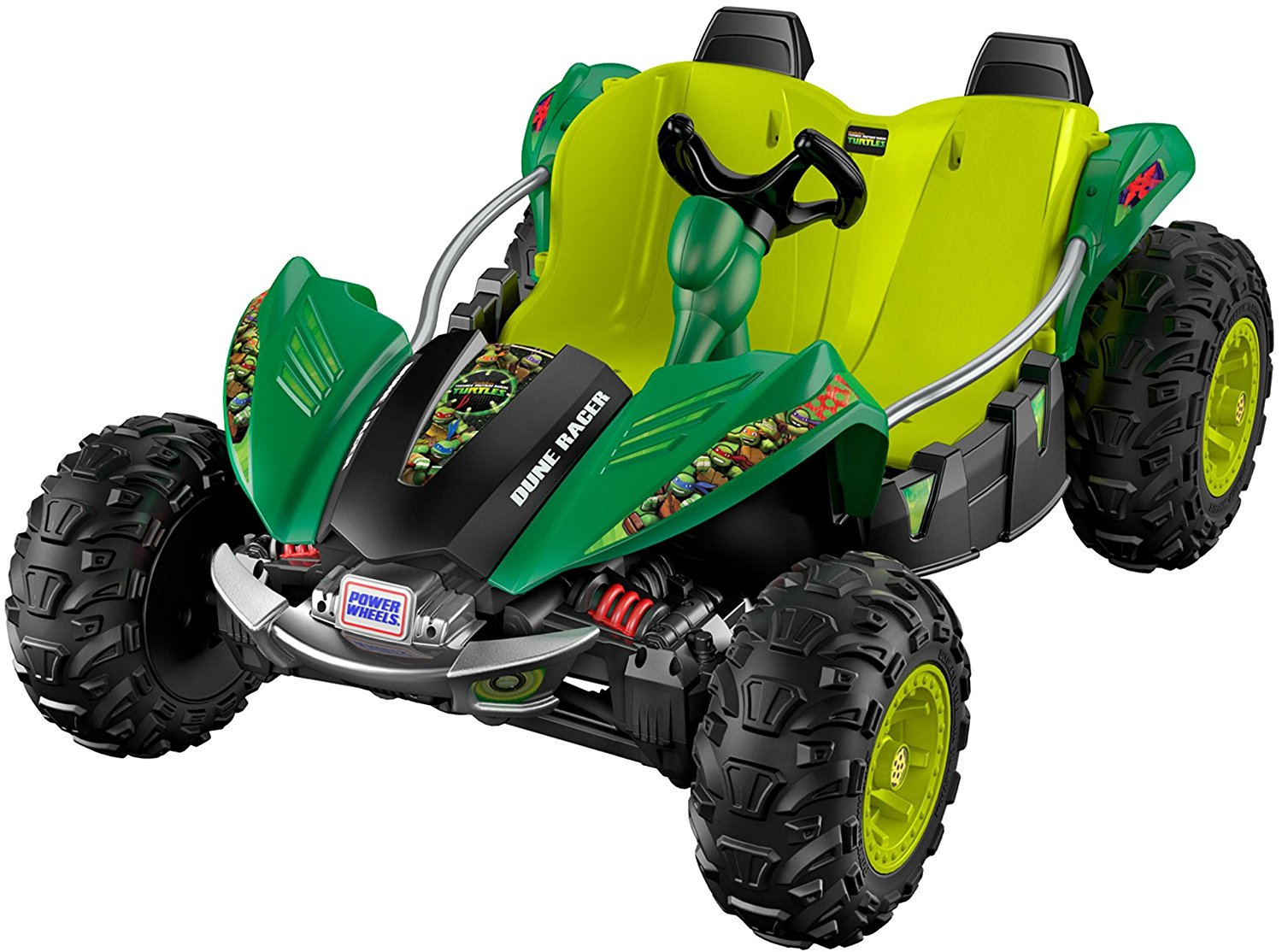 Fisher Price Power Wheels® Nickelodeon™ Teenage Mutant Ninja Turtles™ Dune Racer DRH63