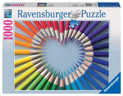 Ravensburger Adult Puzzles 1000 pc Puzzles - Color my Heart 19390