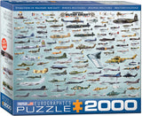 EuroGraphics Puzzles Evolution of Military Aircraft