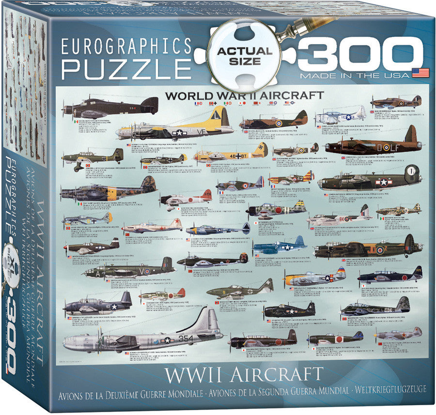 EuroGraphics Puzzles World War II Aircraft