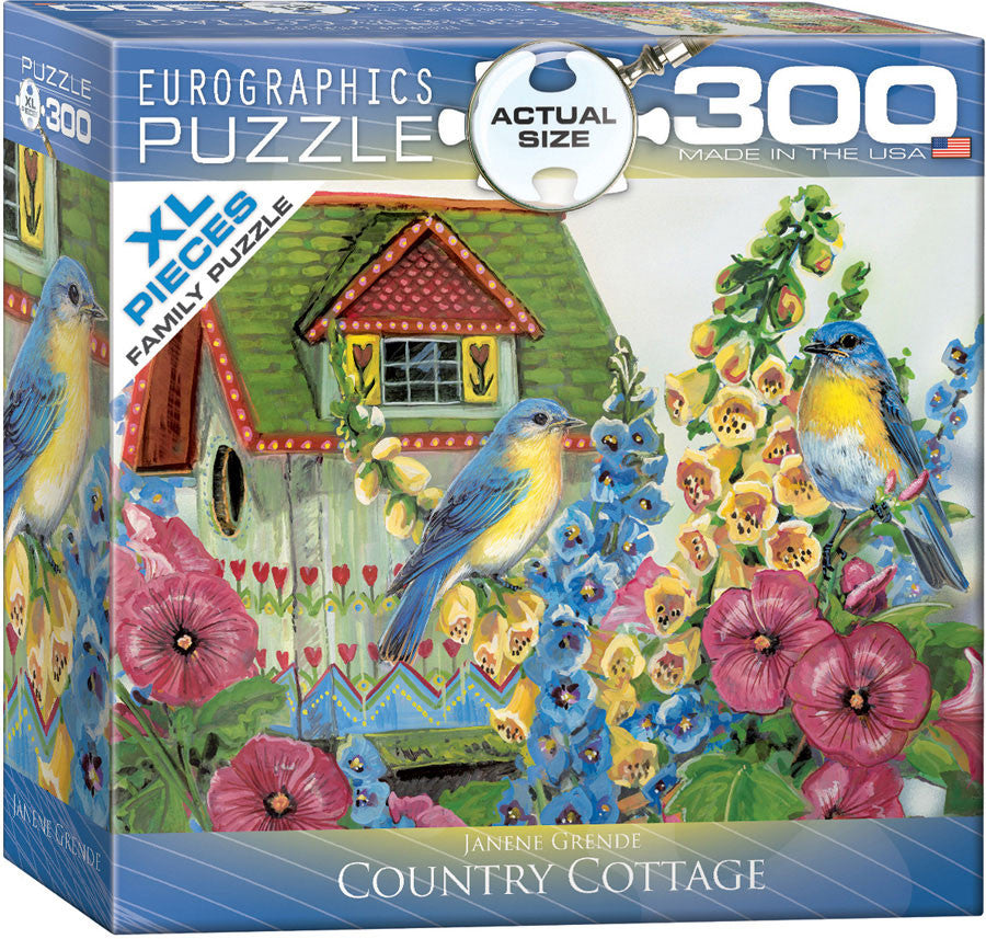EuroGraphics Puzzles Country Cottage by Janene Grende