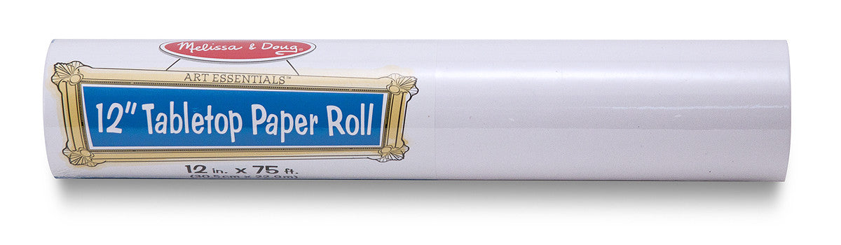 "Melissa & Doug 12"" Tabletop Paper Roll 8559"