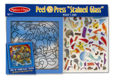 Melissa & Doug Peel & Press Stained Glass - Noah's Ark
