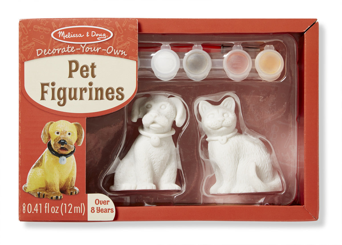Decorate-Your-Own Pet Figurines 8866