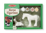 Decorate-Your-Own Horse Figurines 8867