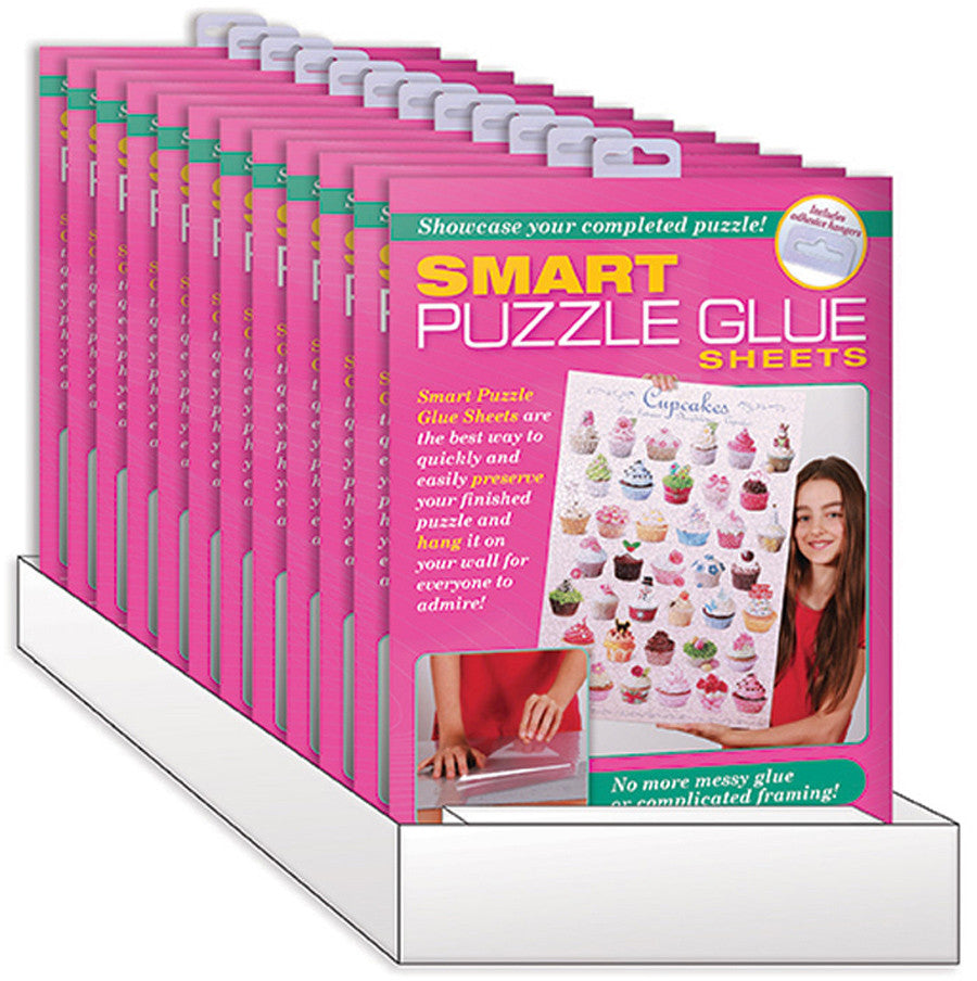 EuroGraphics Puzzles 12-Pack PDQ/ Smart Puzzle Glue Sheets