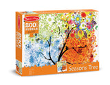 Melissa & Doug 0200 pc Seasons Tree Cardboard Jigsaw 8974