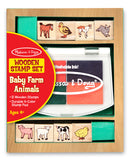 Melissa & Doug Baby Farm Animals Stamp Set