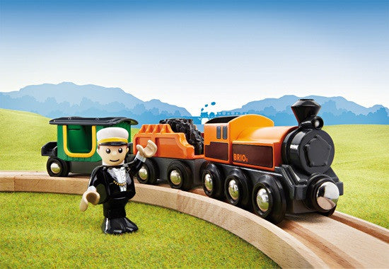 Brio Railway - Trains - Steam Train 33036
