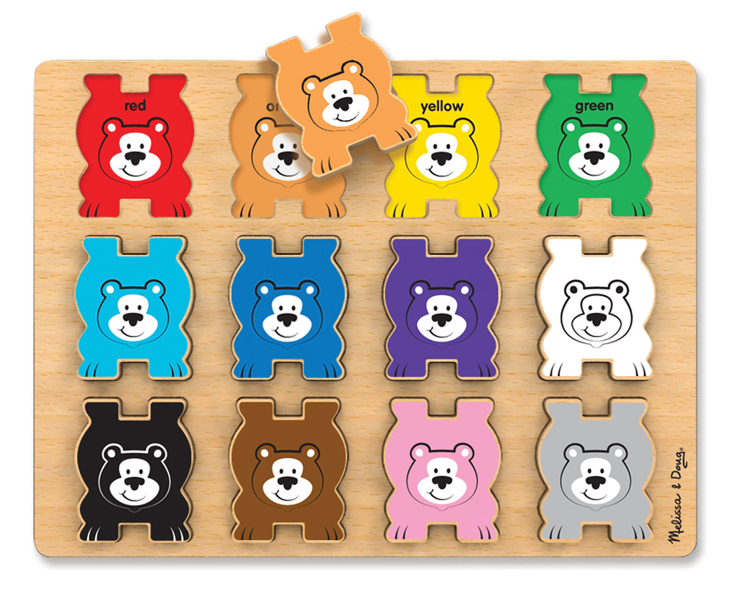 Melissa & Doug Stacking Chunky - Bears 9027