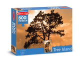 Melissa & Doug 0500 pc Tree Island Cardboard Jigsaw 9030