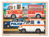 Melissa & Doug To The Rescue! Jigsaw 24pc
