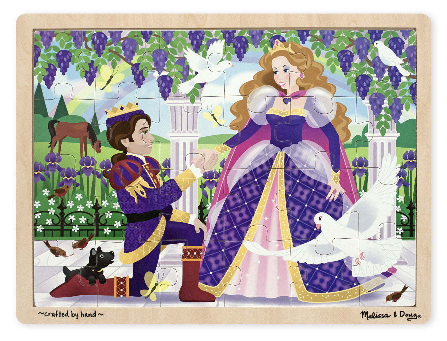 Melissa & Doug Princess Jigsaw (24pc)